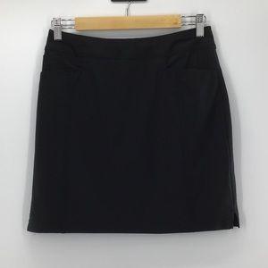 Adidas Athletic Black Stretch Skort LNC Size XS